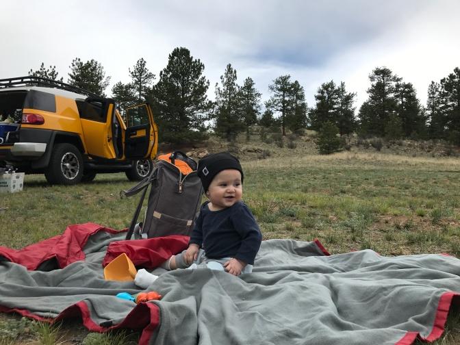Logan's First Camping Trip